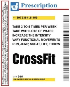 Crossfit RX